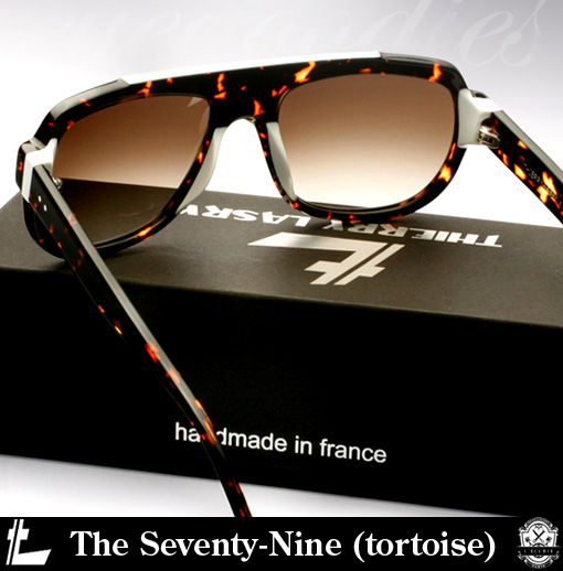 Shop Thierry Lasry The Seventy-Nine Sunglasses (tortoise)