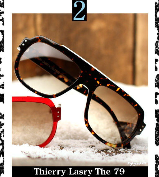 2. Thierry Lasry The 79 Sunglasses