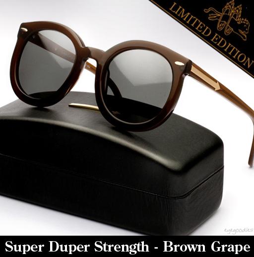 Karen Walker Super Duper Strength Sunglasses Limited Edition