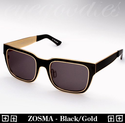 Ksubi Zosma - Black / Gold Sunglasses