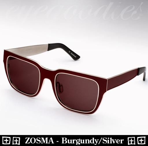 Ksubi Zosma - Burgundy / Silver Sunglasses