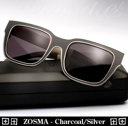 Ksubi Zosma - Charcoal / Silver Sunglasses