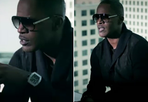 Jamie foxx in Mosley Tribes sunglasses