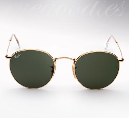 Ray Ban RB 3447 Round Metal sunglasses
