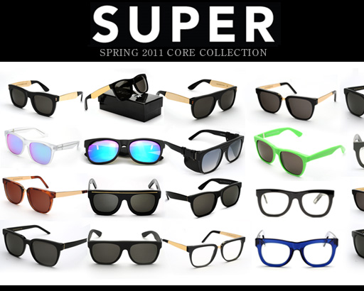 RetroSuperFuture Sunglasses 2011
