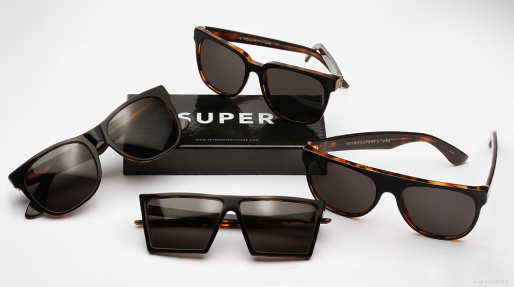 SUPER Black Havana Sunglasses