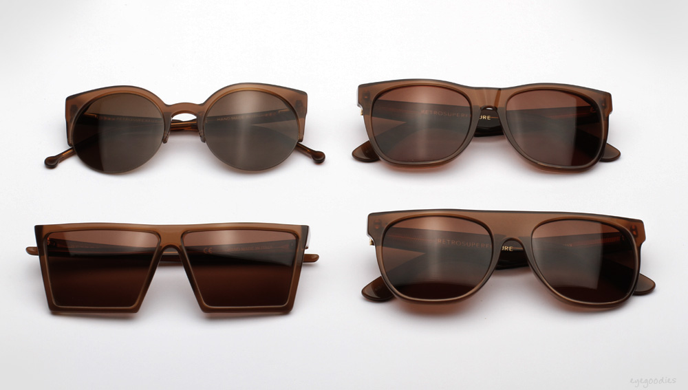 SUPER Dark Brown Sunglasses