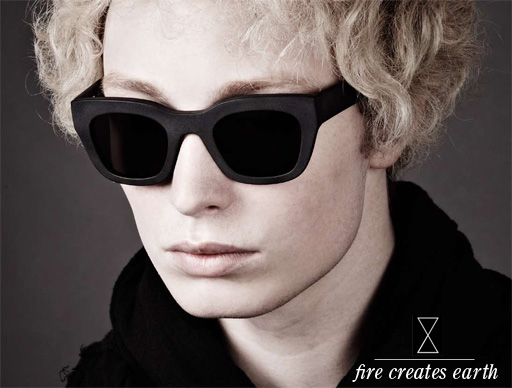Chronicles of Never Eyewear Fire Creates Earth