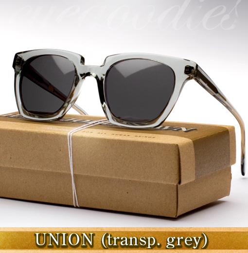 Han Union Sunglasses - Transparent Grey