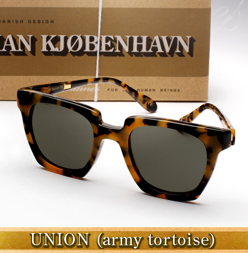 Han Union Sunglasses - Army Tortoise