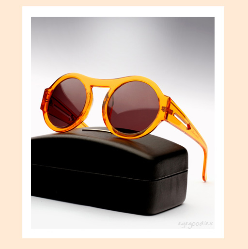 Karen Walker Bunny Sunglasses - Orange