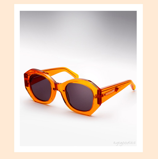 karen walker patsy sunglasses -Orange