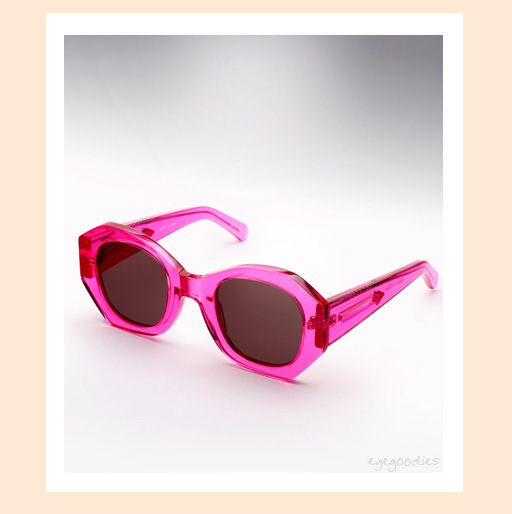 karen walker patsy sunglasses - Fuschia