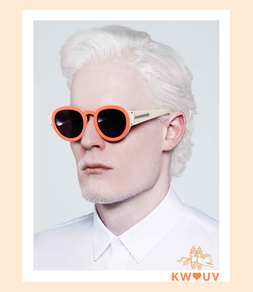 karen walker pegs sunglasses - cream
