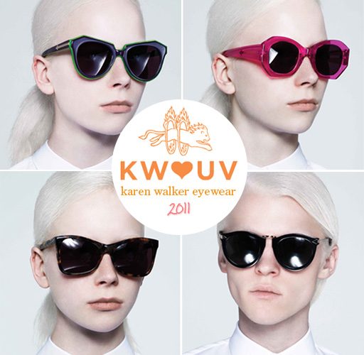 Karen Walker Sunglasses 2011 Hearts UV