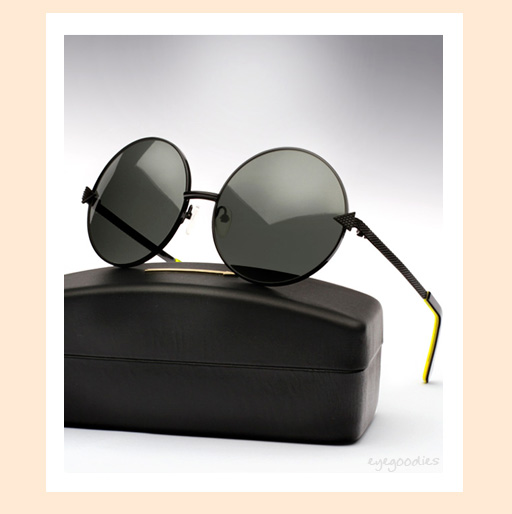 Karen Walker Von Trapp sunglasses - Black