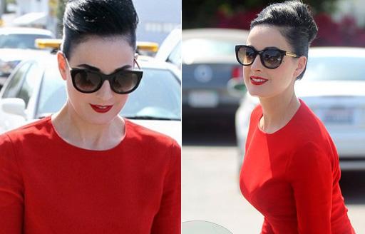 Dita Von Teese sunglasses