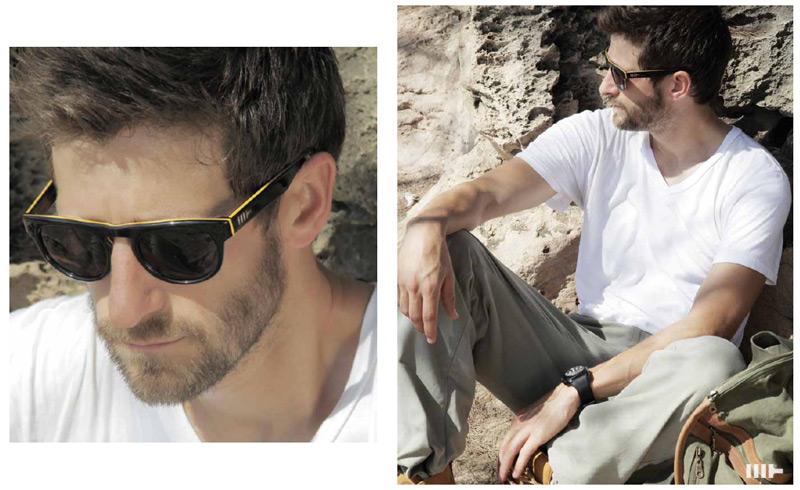 Mosley Tribes Burke Sunglasses -black/yellow