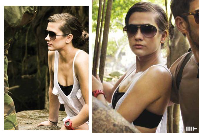 Mosley Tribes Tana Sunglasses - Black