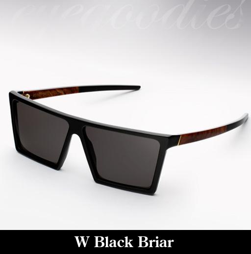 RetroSuperFuture W Black Briar Sunglasses