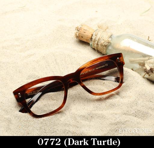 Cutler and Gross 0772 Dark Turtle eyeglasses