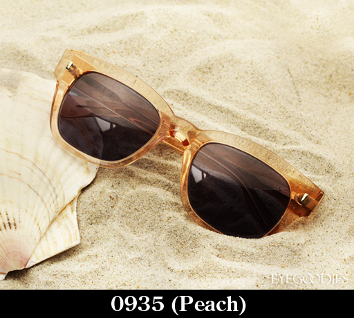 Cutler and Gross 0935 Peach Sunglasses