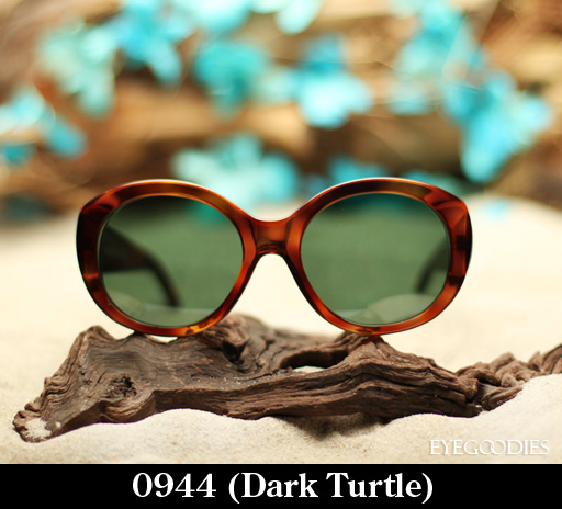 Cutler and Gross 0944 Dark Turtle Sunglasses