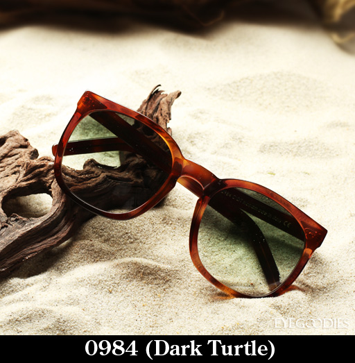 Cutler and Gross 0984 Dark Turtle Sunglasses