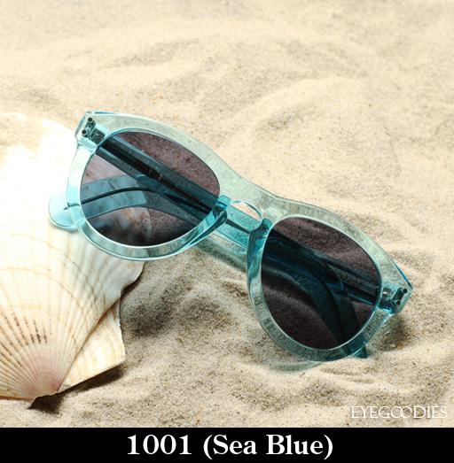 Cutler and Gross 1001 Sea Blue Sunglasses