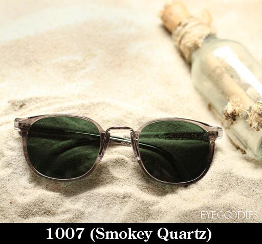 Cutler and Gross 1007 Smokey Quartz Sunglasses