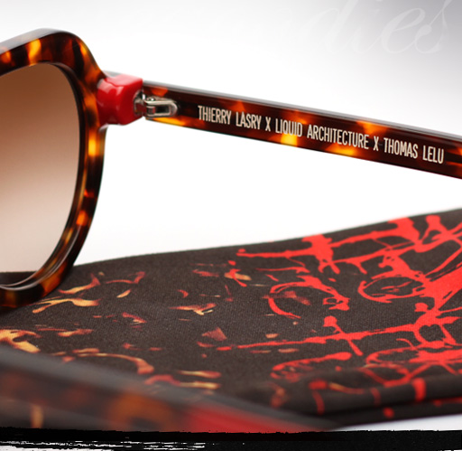 Thierry Lasry Liquid Architecture 2 sunglasses in Red