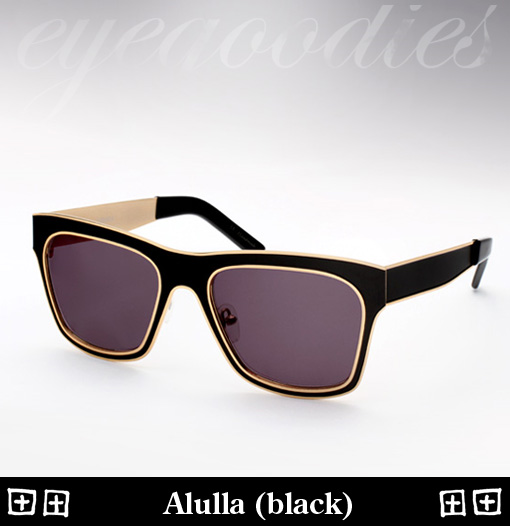 Ksubi Alulla Sunglasses - Black