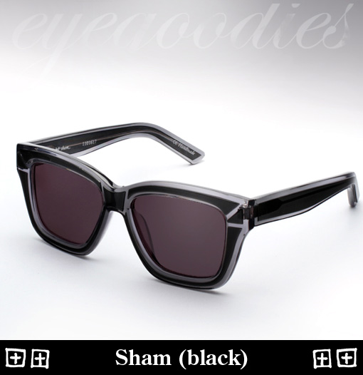Ksubi Sham Sunglasses - Black