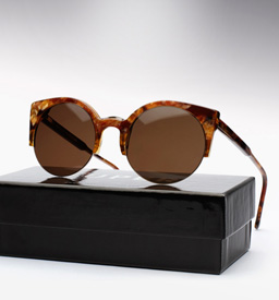 Super Lucia Sunglasses - Brown Stone