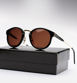 Super Panama Sunglasses Black