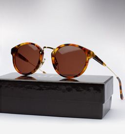 Super Panama Sunglasses - Dark Havana