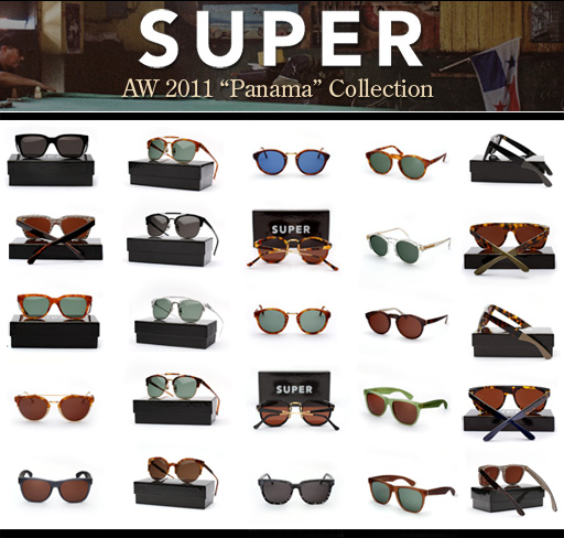 Super Sunglasses Autumn Winter 2012