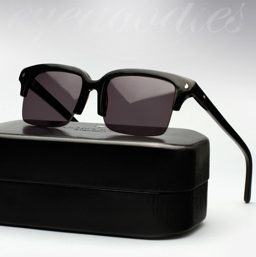 contego the hemingway sunglasses - black