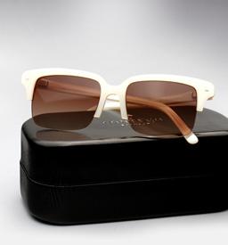 contego the hemingway sunglasses - pearl