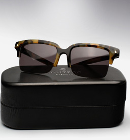 contego the hemingway sunglasses - tortoise