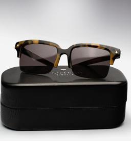 contego the hemingway sunglasses - tortoise