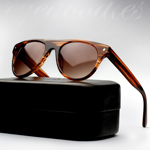 contego the kipling sunglasses - woodgrain