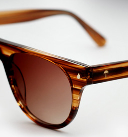 contego the kipling sunglasses - woodgrain
