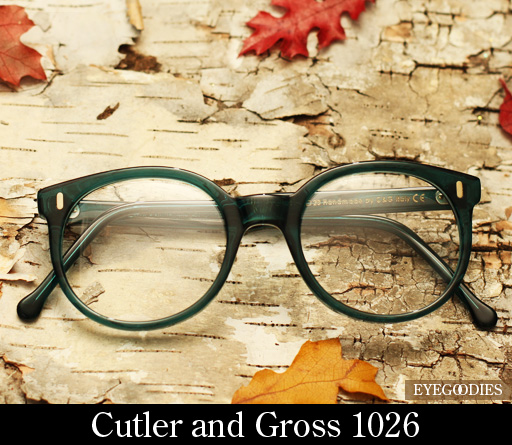 Cutler and Gross 1026 eyeglasses