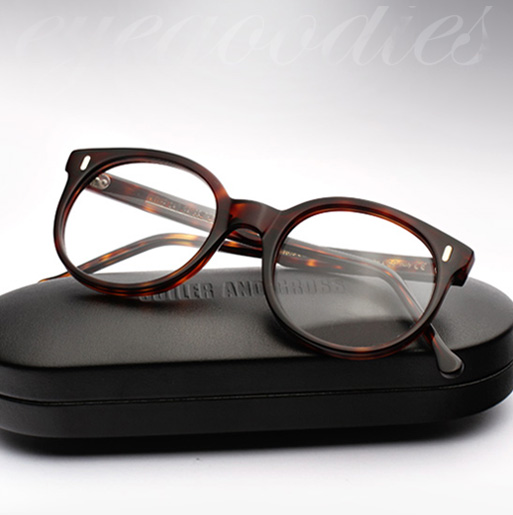 Cutler and Gross 1026 eyeglasses - Dark Turtle