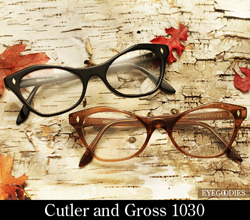 Cutler and Gross 1030 eyeglasses