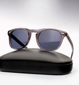 Cutler and Gross 1032-sunglasses -Transparen Grey
