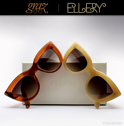 Graz X Ellery Sunglasses - New Colors