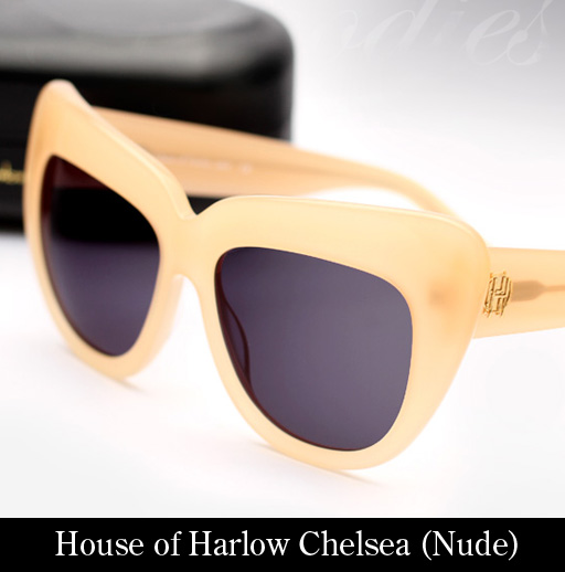 House of Harlow 1960 Chelsea (Nude) Sunglasses