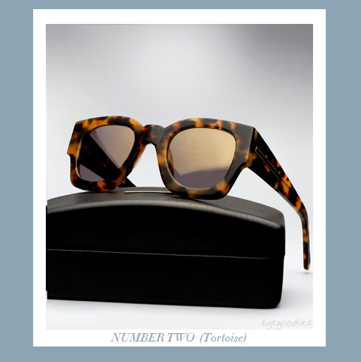 Karen Walker Number Two sunglasses - Tortoise